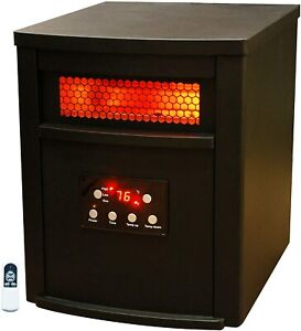 LifeSmart Infrared Heater w/ Metal Cabinet,  PCHT1012US