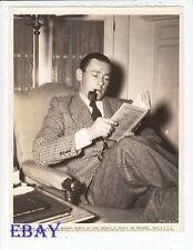 Herbert Marshall candid 1936 VINTAGE Photo Beverly Hills Hotel