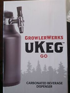 GrowlerWerks uKeg Go Carbonated Growler & Craft Beverage Dispenser for Beer Soda