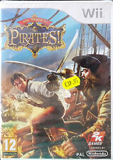 SID MEIER'S PIRATES Nintendo Wii Game 2010-PAL-