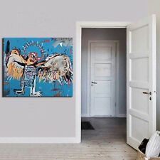 "Jean Michel Basquiat ""Fallen angel"" HD print on canvas huge wall picture 20x24"""