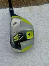 Dunlop 65 18 Degree Rescue / Hybrid Golf Club Regular Graphite Shaft