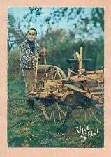 CARTE POSTALE - VIVE ST ELOI - SCENE AGRICOLE - MACHINE / SEMOIR -