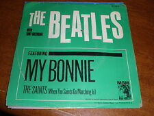 The Beatles 45 PICTURE SLEEVE My Bonnie