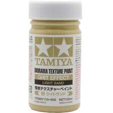 TAMIYA FONDO PER DIORAMA TEXTURE PAINT GRIT EFFECT LIGHT SAND 100 ML ART 87110