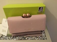 Ted Baker JOISEY Pale Pink Scripted Leather Bobble Matinee Purse BNWTS