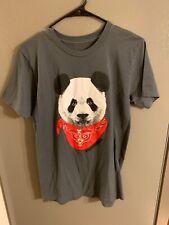 Popkiller Mens Small Pandana Tshirt EUC