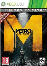 METRO LAST LIGHT LIMITED EDITION XBOX 360 BRAND NEW AND SEALED