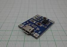 2X Micro USB 1A Lithium Akkus Board Ladegerät Modul (Mini,TP4056,18650)- E650-2