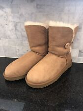 Women's UGG Chestnut Bailey Button II Boots - size 12- #1016226