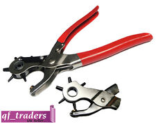 Revolving Leather Hole Ring Punch Plier Puncher Belt/leather Cutter Eyelet Craft
