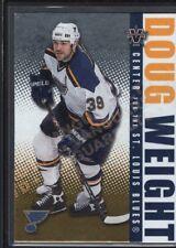 DOUG WEIGHT 2002/03 VANGUARD #84 LTD PARALLEL BLUES SP #186/450