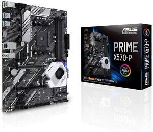 ASUS Prime X570-P ATX Motherboard, AMD Socket AM4, Ryzen 3000, 12 DrMOS Power St