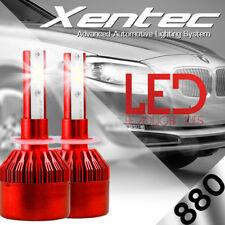XENTEC LED HID Foglight kit 880 White for 2001-2002 Chevrolet Silverado 2500 HD