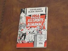 1956 All Sports Almanac Baseball, Basketball, Football Cleveland Plain Dealer