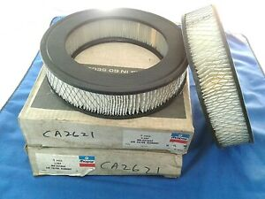 Mopar Air Filter L-507  Set of 2  Interchange Fram CA-2621  USA