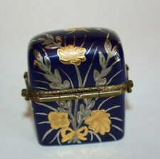 Vintage Limoges Imports, Trinket Chest w/2 Removable Perfume Bottles