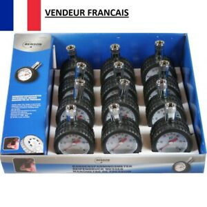 Jauge Manomètre Mesure Pression Air Pneu Voiture Vélo Camion 0-4 Bars 0-60 Psi