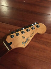 1995 Fender Strat Neck Rosewood Standard Stratocaster Tuners Plate