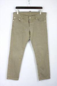 DSQUARED2 SLIM JEAN Men's (EU) 52 Stretchy Rigid Button Fly Jeans 26830-JS