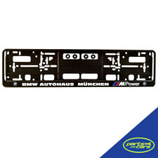BMW Autohaus | M Power | Number Plate Surround x1