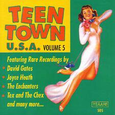 TEEN TOWN USA - Volume 5 - 50's & 60's Teen Songs CD
