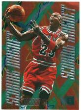 NBA Card 1995-96 Michael Jordan METAL Scoring Magnet