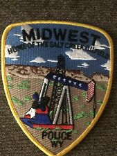 Midwest City Police  WY  Police Patch
