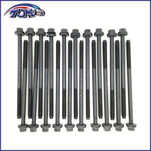 Brand New Head Bolts Set for 91-10 Ford 4.6L 5.4L F150 Mustang Expedition