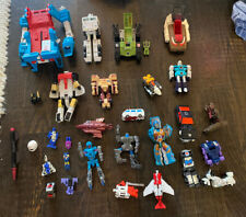 LOT OF 20+ ?? Vintage 1980s G1 TRANSFORMERS Action Figure