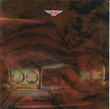 Bentley Brooklands Continental Turbo R • Large Program Brochure 1993 • EXCELLENT