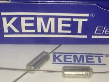 KEMET BEST QUALITY SOLID TANTALUM AXIAL CAPACITOR  3.9uF  10v            ad2x12