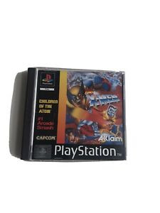 X-Men Children Of The Atom PS1 PlayStation 1 PAL Game Complete Rare Marvel