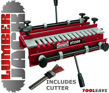 300mm Capacity Dovetail Jig with Comb Template FREE Router Cutter worth £12.95