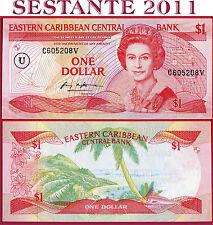 (com) EAST CARIBBEAN STATES - 1 DOLLAR nd 1985 - U =  ANGUILLA -  P 17u - UNC