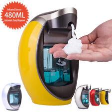 480ml Automatic IR Sensor Foam Soap Dispenser Bathroom Intelligent Washing Dish