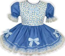 READY 2 WEAR | Blue BOWS Adult Baby Sissy Girl HALLOWEEN Costume Dress LEANNE