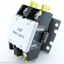 SMC-30P2-220 DEFINITE PURPOSE CONTACTOR 2POLE 208-240V COIL 30 FLA 40 RES