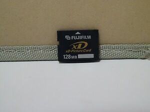 FUJIFILM 128MB  xD-Picture Memory Card