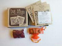 Dog Bingo by Professor Puzzle Ltd Complete in Box, Rare Game with Furry Twist