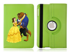Beauty and The Beast Rotating Case Green Cover for iPad Mini 1 2 3