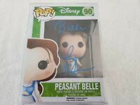 Paige O'Hara BELLE Signed Funko Pop Disney 90 Beauty and the Beast W PSA/DNA COA