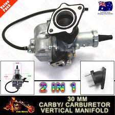 30mm Mikuni Carby/Carburetor & Manifold 150cc 200cc 250cc Dirt bike buggy ATV