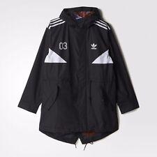 Mens adidas Originals Classic Team Colorado Heritage Parka Coat Rain B48977 M
