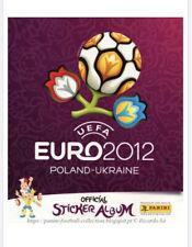Poland Ukraine 2012 Panini UEFA Euro Cup album -in PDF- Soccer