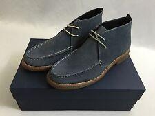 Joseph Abboud MEN'S Winston Lace Up Slip On Shoes Loafers Boots Light Blue 10.5
