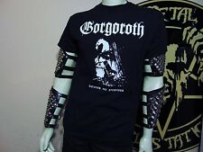 GORGOROTH NEW MED SHIRT.BLACK METAL. SATYRICON. WATAIN. DARKTHRONE. IMMORTAL