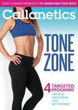 Callanetics Tone Zone: 4 Targeted Programs [New DVD]