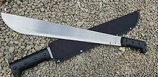 2 x Grosse Stahl MACHETE Messer leichtes BUSCHMESSER Beil Outdoor Angeln Jagd M2