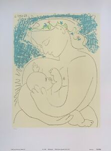 Pablo Picasso MOTHERHOOD 1993 Limited Edition Lithograph Art